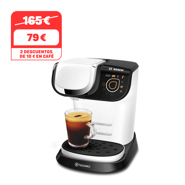 TASSIMO Cafetera My Way 2 - blanco