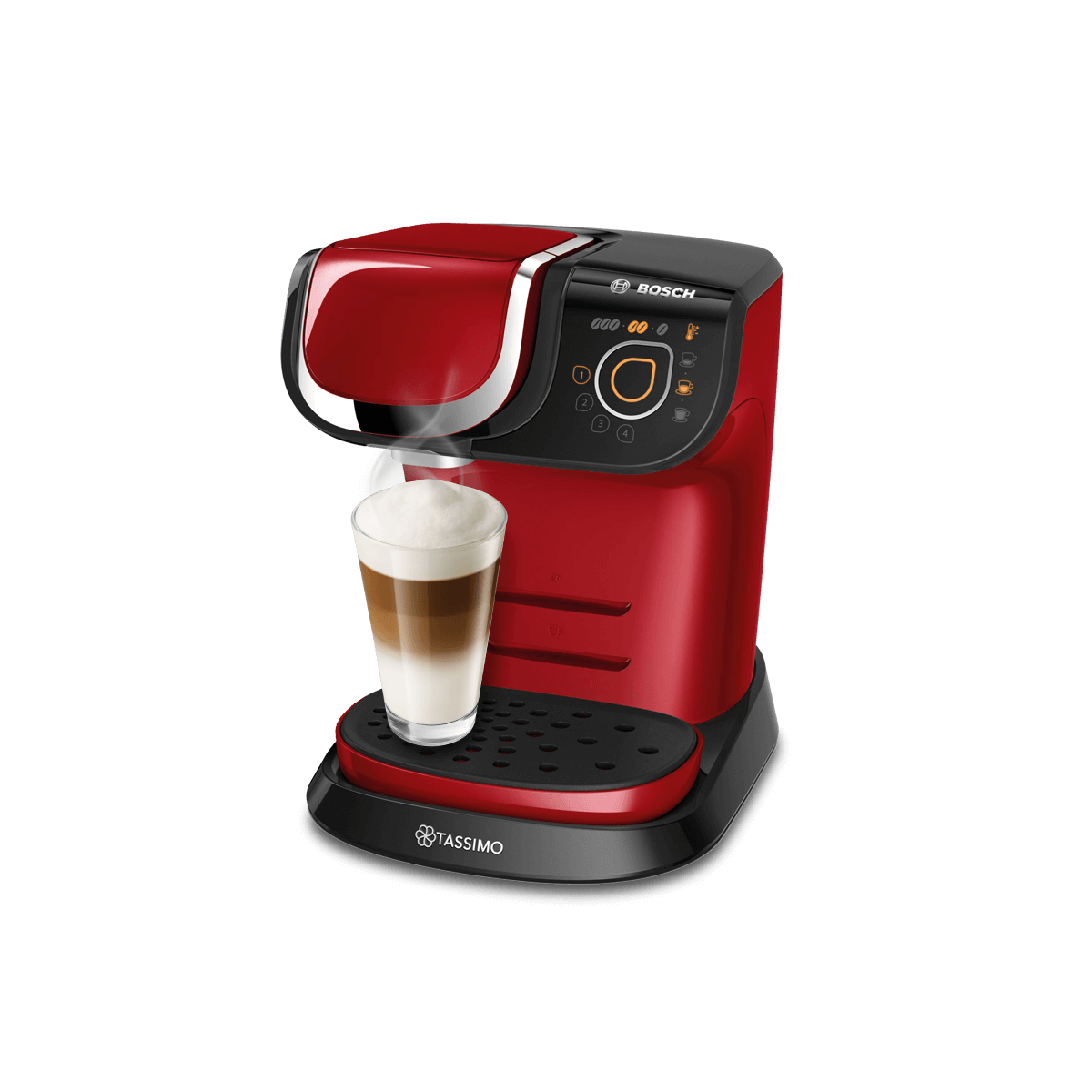 TASSIMO My Way 2 - red coffee machine