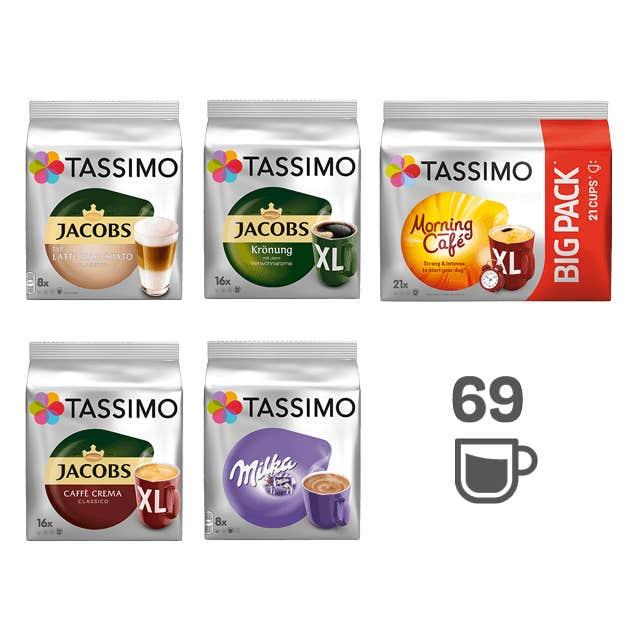 TASSIMO TASSIMO Starter Paket - 5 Packungen