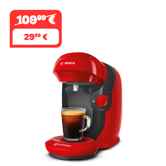 TASSIMO STYLE - Just Red Kaffeemaschine