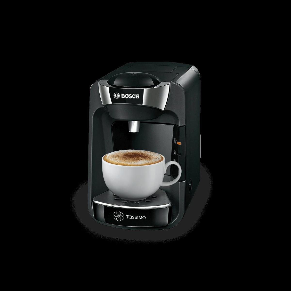 Suny Mystical Black Coffee Machine
