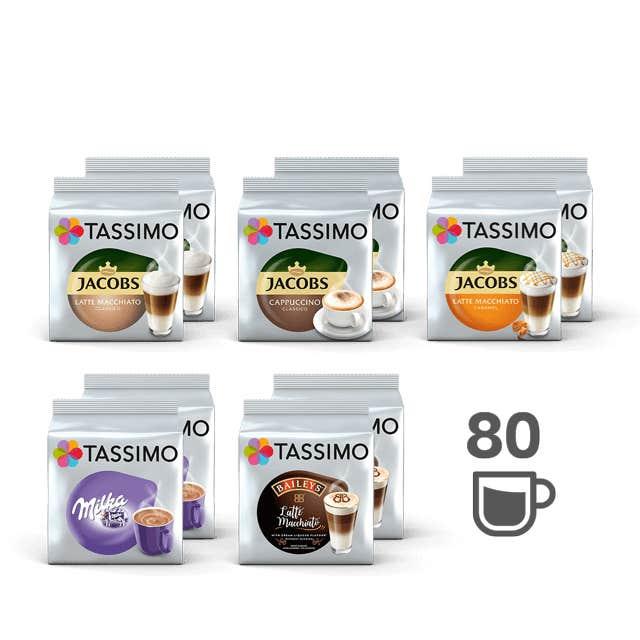 TASSIMO TASSIMO Verwöhnmomente - 10 Packungen