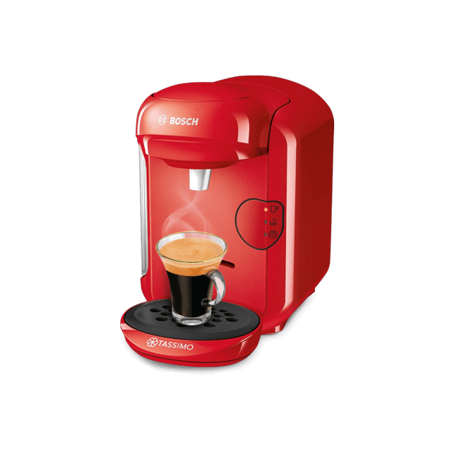 TASSIMO Vivy 2 - red coffee machine