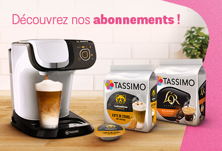 TASSIMO ABONNEMENT CAFE